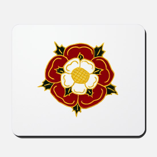 Tudor Rose Mousepad