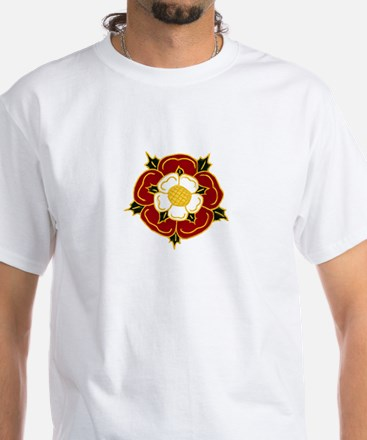 Tudor Rose White T-Shirt