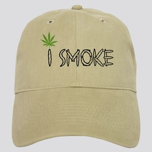 I Smoke Marijuana Cap