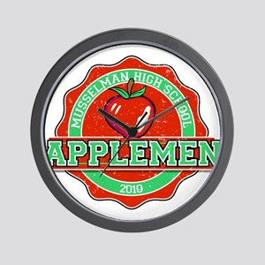 MUsselman Applemen Wall Clock