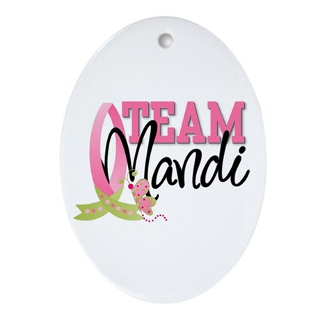Team Mandi Ornament (Oval)