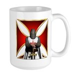 Templar and Cross Large Mug