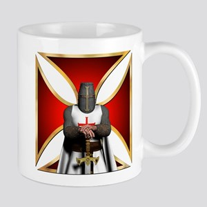 Templar and Cross Mug