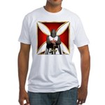 Templar and Cross Fitted T-Shirt
