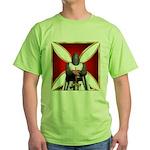 Templar and Cross Green T-Shirt