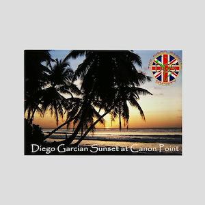 DGS Sunset Rectangle Magnet