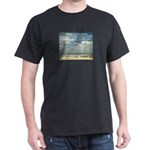 Black 'Serenity Prayer' Ocean T-Shirt