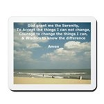 'Serenity Prayer' Mousepad