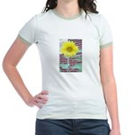 Jr. Sunflower Ringer T-Shirt