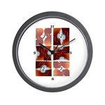 'Amaze of Cello' Wall Clock