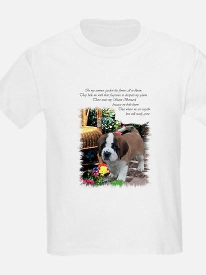 Saint Bernard Puppy T-Shirt