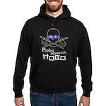 Robot Skeleton Hobo Hoodie (dark)
