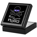 Robot Skeleton Hobo Keepsake Box