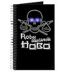 Robot Skeleton Hobo Journal