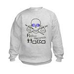Robot Skeleton Hobo Kids Sweatshirt