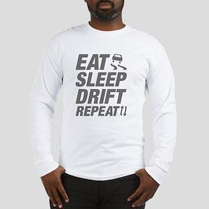 Eat Sleep Drift Repeat Long Sleeve T-Shirt