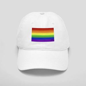 GAY RAINBOW art Cap