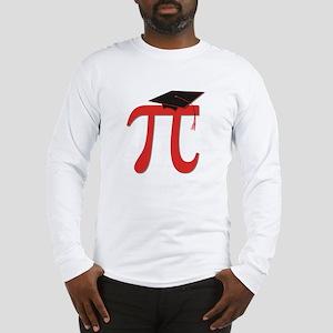 Red Pi Grad Long Sleeve T-Shirt