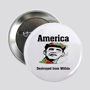 "HEADING FOR DISASTER 2.25"" Button (10 pack)"