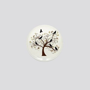 The Raven's Tree Mini Button
