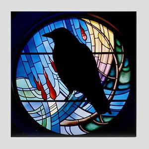 Raven Prism Tile Coaster