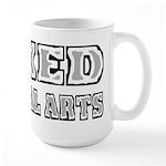 Mixed Martial Arts Large Mug