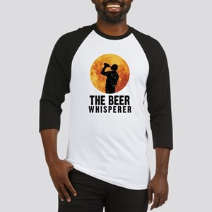 The Beer Whisperer Baseball Jersey