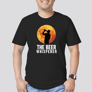 The Beer Whisperer Men's Fitted T-Shirt (dark)
