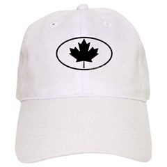 Black Maple Leaf Cap