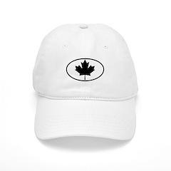 Black Maple Leaf Cap