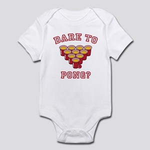 Dare To Pong? Infant Bodysuit