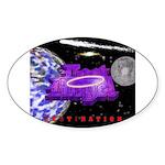 Lost Angel Sticker (Oval)