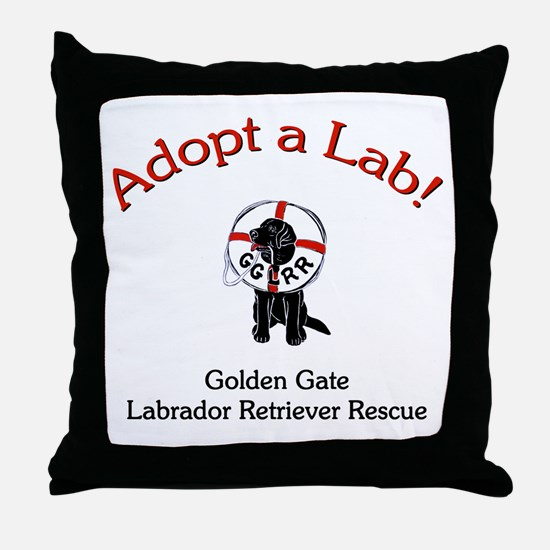 GGLRR Logo Throw Pillow