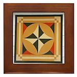 Mill Wheel Framed Tile