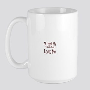 At Least My Yorkshire Terrier Large Mug