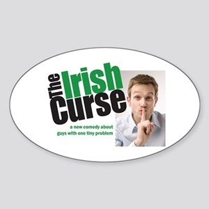 The Irish Curse - Sticker (Oval)