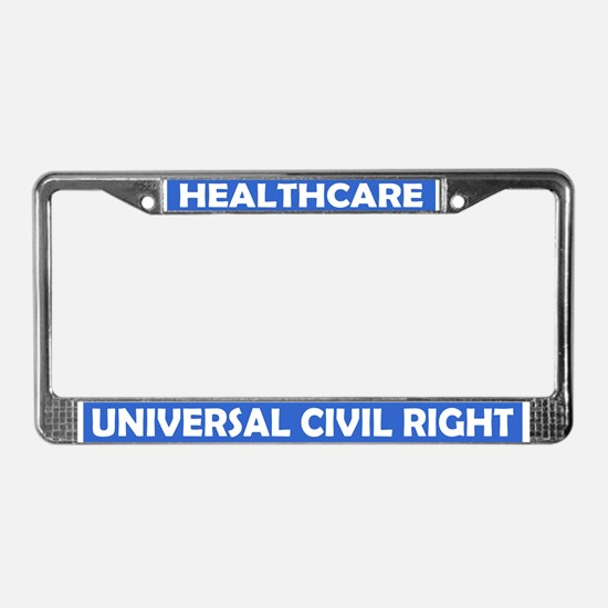 Cute Single License Plate Frame