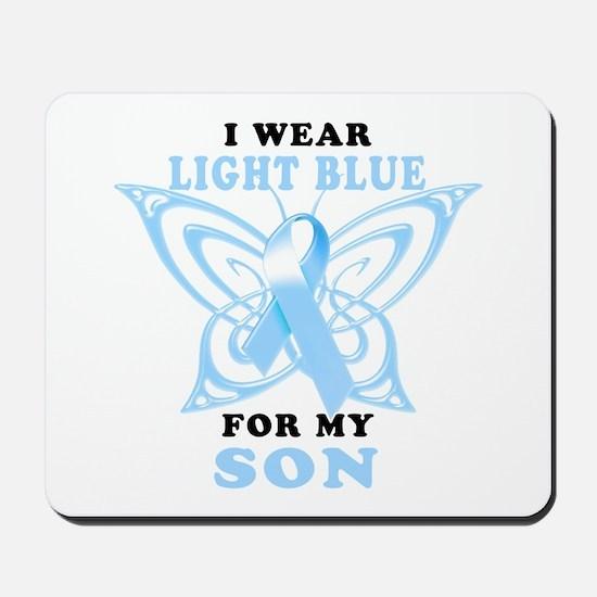 I Wear Light Blue for my Son Mousepad