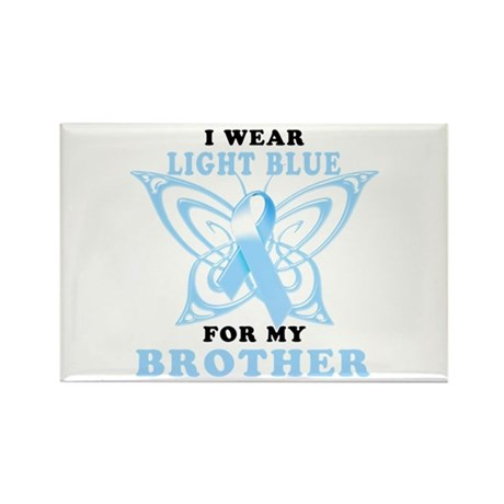 I Wear Light Blue for my Brother Rectangle Magnet