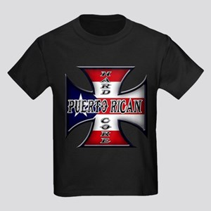 Puerto rican warned you about Kids Dark T-Shirt