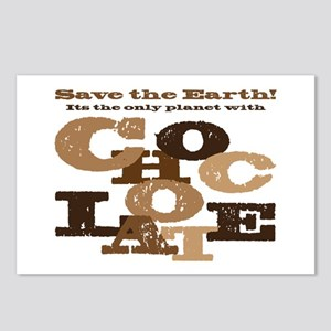 Save the Chocolate! Postcards (Package of 8)