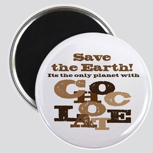 """Save the Chocolate! 2.25"""" Magnet (10 pack)"""