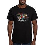 Unicorns Men's Fitted T-Shirt (dark)