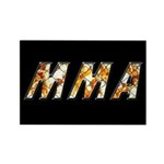 MMA Rectangle Magnet (10 pack)