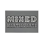 Mixed Martial Arts Rectangle Magnet (10 pack)