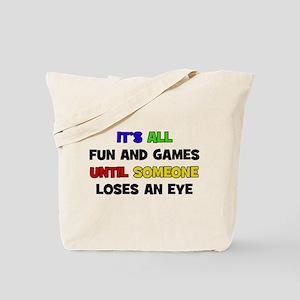 Fun & Games - Eye Tote Bag