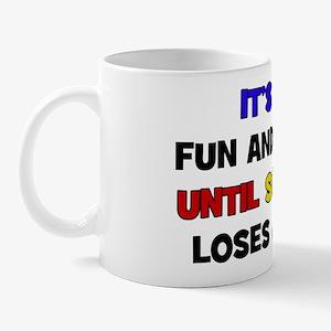 Fun & Games - Eye Mug