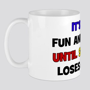 Fun & Games - Eye Mug