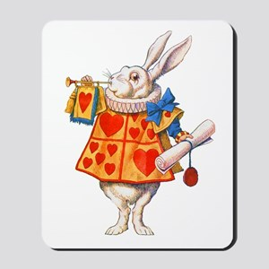 ALICE - THE WHITE RABBIT Mousepad