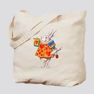 ALICE - THE WHITE RABBIT Tote Bag